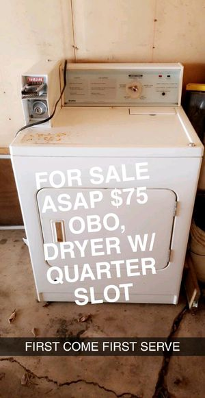 Dryer, kitchen island, speakers,bakers rack for Sale in Joliet, IL