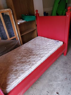 Potery Barn frame with mattress for Sale in Vancouver, WA
