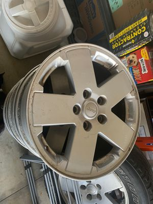 2007 Jeep JK Factory Wheels for Sale in Mooresville, NC