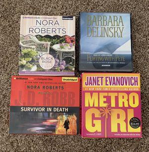 Nora Roberts, Janet Evanovich, Danielle Steel - Audio Books for Sale in Sacramento, CA