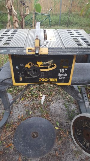 Pro-teck 10 inch table saw for Sale in Tampa, FL