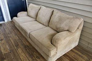 Grandstand walnut Sofa for Sale in Fairfax, VA