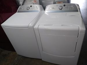 ❤🎆whirlpool cabrio washer large capacity dryer electric nice set🎆🗻 for Sale in Houston, TX