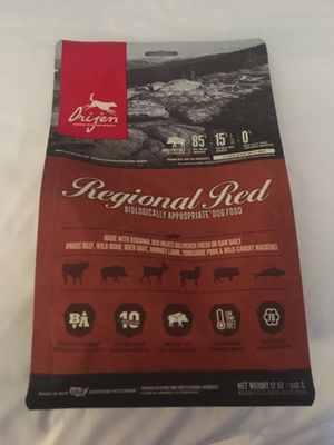 Orijen Regional Red 12oz Dog Food for Sale in Carrollton, TX