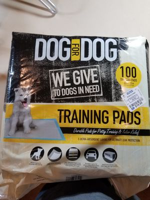 Doggy training pads for Sale in Boyds, MD