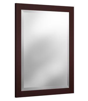 "Bolton Furniture Inc. AMIR00P0 Alaterre Espresso 24"" Beveled Bath Vanity Mirror for Sale in Charlotte, NC"