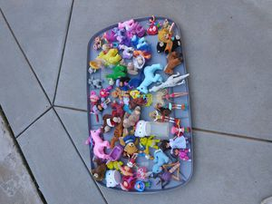 Games & toys..My little Pony and other McDonald's toys for Sale in Lincoln Acres, CA