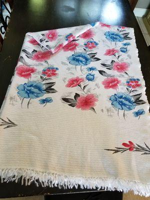 Asian Silk Throw Blanket 56W X 84L for Sale in Cypress, TX
