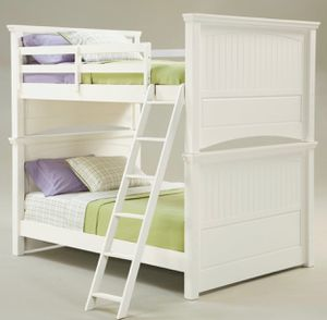 TWIN BUNK BEDS -CREAM for Sale in Fresno, CA