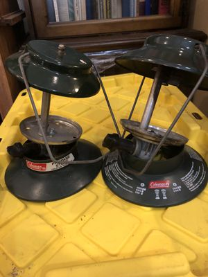 Coleman personal stove and lantern for Sale in Fridley, MN