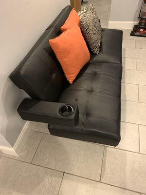 Leather Futon for Sale in Philadelphia, PA