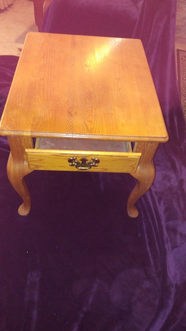 End Table - Real Wood