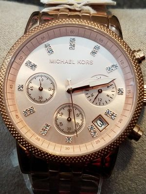 New Michael Kors rose gold watch for Sale in Minocqua, WI