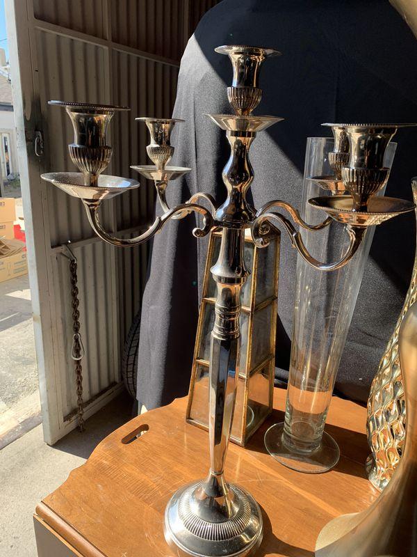 Candelabras silver