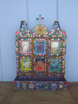 18 by 13 inches tin church for Sale in Fowler, CA