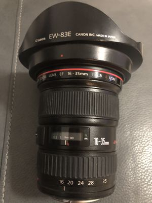 Canon EF 16-35mm f/2.8 L II USM Lens for Sale in Hialeah, FL