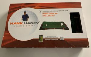 Hank Haney Golf Training System Fairway Rough Mat Practice for Sale in Los Angeles, CA