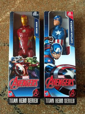 Marvel Avengers - Iron Man and Captain America for Sale in Kirkland, WA