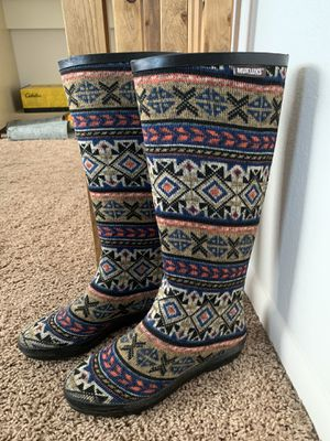 Mukluks rain boots for Sale in Arvada, CO
