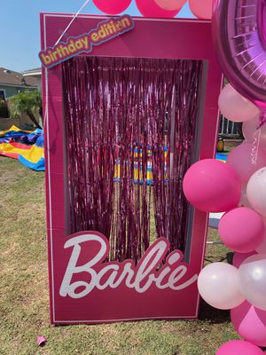 5ft 3 in Barbie kid doll box photo op for Sale in Paramount, CA