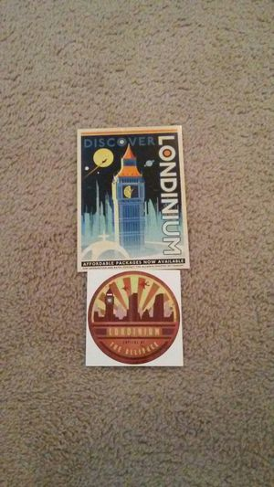 Firefly Londinium sticker and postcard for Sale in New Albany, OH