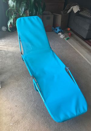 Pool/Beach Lounge Chair for Sale in LUTHVLE TIMON, MD