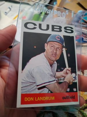1964 Topps Don Landrum Albie Pearson Baseball Cards Lot for Sale in Port Richey, FL