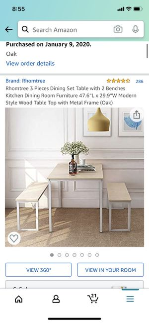 Amazon kitchen table for Sale in New York, NY
