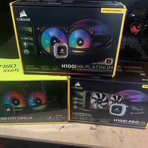 Corsair Aio Cpu Coolers For Sale for Sale in Santa Ana, CA