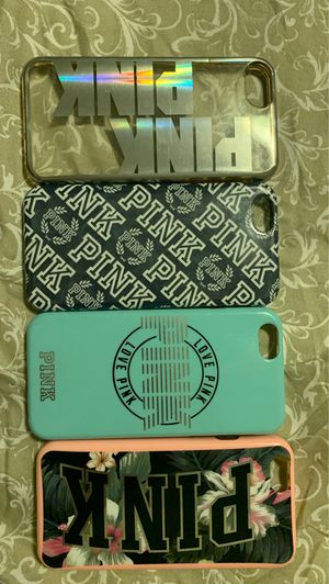 Pink Victoria secret iPhone 6s cases for Sale in San Francisco, CA