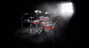 al Alesis Strike Pro Kit Electronic 11 piece Drum set for Sale in Denver, CO