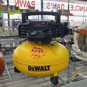 Dewalt Pancake Compressor for Sale in Dallas, TX