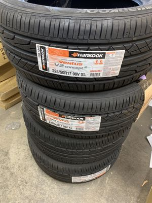 4 brand new Hankook tires Ventus V2 Concept2 tire for Sale in Dublin, OH