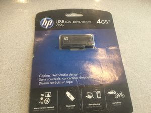 HP USB 4 GB NEW NEVER OPENED for Sale in Centreville, VA