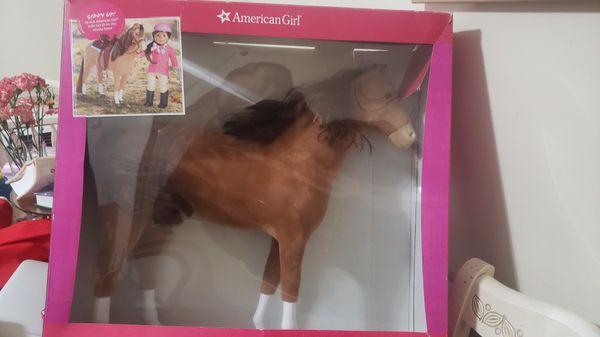 "American Girl Chestnut Horse For 18"" Dolls - In Box"