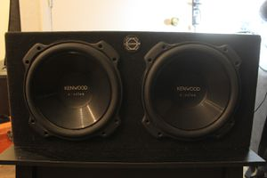 Kenwood 12in Excelon Subs in Box for Sale in Dallas, TX