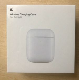 Apple Wireless Charging Case for AirPods for Sale in Schaumburg, IL