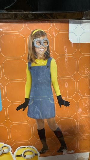 Minion Despicable Me Dress Halloween Costume Child Size Small (4-6) for Sale in NEW PRT RCHY, FL