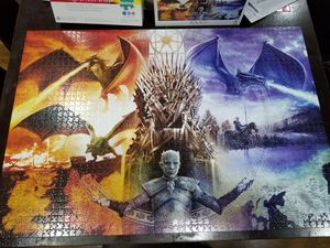 2000 piece Game of thrones Puzzle for Sale in Pembroke Pines, FL