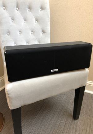 Polk audio center channel speaker for Sale in Tigard, OR
