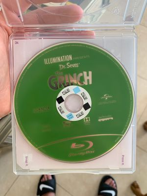 The Grinch (2019) Blu Ray for Sale in North Miami Beach, FL