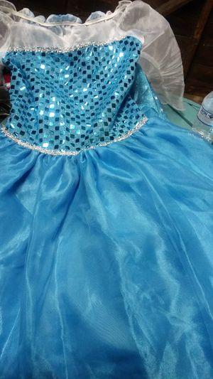 Vestido de elsa for Sale in Santa Ana, CA