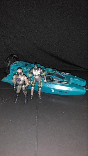 1984 Cobra Water Moccasin with 2x Gi Joe figures 2002 for Sale in Gilbert, AZ
