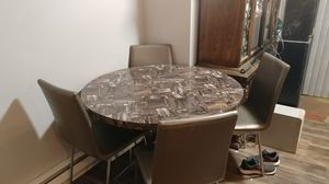 Dining table w/ 4 chairs for Sale in Bend, OR