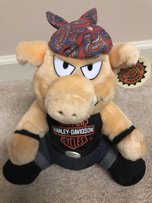 1998 Harley Davidson Plush Motorcycle Pig Hog for Sale in Hendersonville, TN