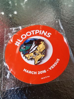 Loot pin March 2016 versus for Sale in Toledo, OH