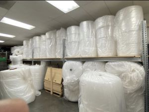 Bubble Wrap Cushioning Clear ((CHEAP))) FREE DELIVERY for Sale in San Diego, CA
