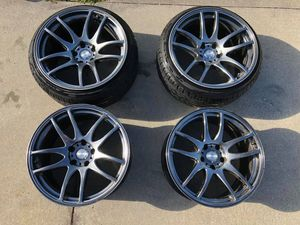 ESR Wheels with New Tires for Sale in Seffner, FL