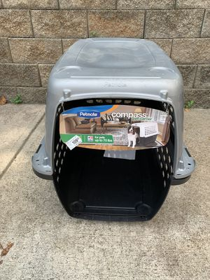 Dog Travel carrier kennel airplane up to 70lbs for Sale in Marietta, GA