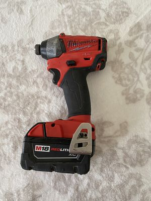 Milwaukee impact drill for Sale in Alexandria, VA